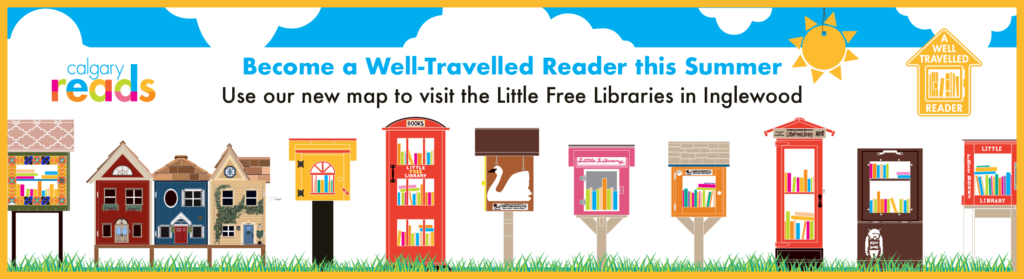 Go on a tour of the Little Free Libraries in Inglewood this summer!